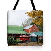 Watchdog Guarding The Farm Tote Bag