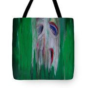 Watcher In The Green  Totem Series  Tote Bag