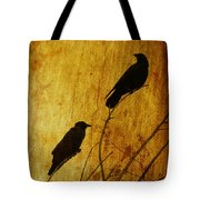 Watchers Of The East And West Tote Bag