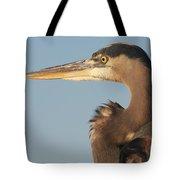 Watchful Heron Tote Bag