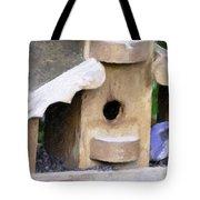 Watching - Impasto Paint Tote Bag