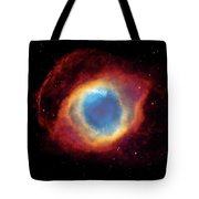 Watching - Helix Nebula Tote Bag by Jennifer Rondinelli Reilly - Fine Art Photography