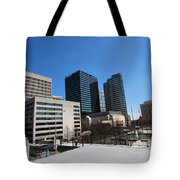 Watching Over Nashville Tote Bag