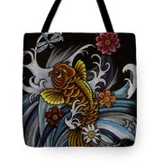 Watching Over Natilius Tote Bag by Maria Arango