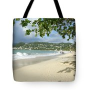 Watching The Beach Tote Bag