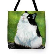 Watching The Birds Tote Bag by Lenore Gaudet