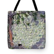 Watching The Nest Tote Bag
