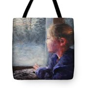 Watching The Sun Rise Tote Bag