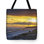 Watching The Sun Set Tote Bag