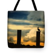 Watching The Sunrise Tote Bag