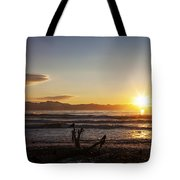 Watching The Sunset With Friends Tote Bag