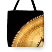 Watching The Wheel Go Round Tote Bag