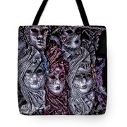 Watching You Venice Italy Tote Bag
