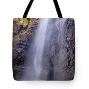 Watefall At The Mountains Tote Bag