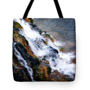 Water And Stone Tote Bag
