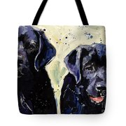 Water Boys Tote Bag by Molly Poole