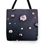 Water Bubble Relections Tote Bag