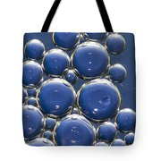 Water Bubbles Tote Bag