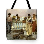 Water Carriers. Venice Tote Bag