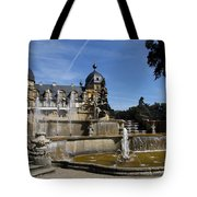 Water Cascade Palace Seehof Tote Bag