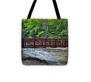 Water Cascade Tote Bag