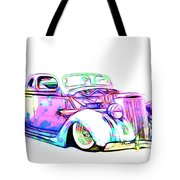 Water Colors 36 Ford Tote Bag