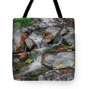 Water Coloured Rocks Tote Bag