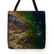 Water Crater Tote Bag