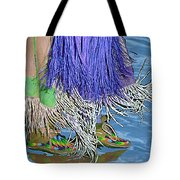 Water Dancing Tote Bag