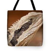 Water Dragon Close Up Tote Bag