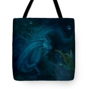 Water Dragon Of The Abyss Tote Bag