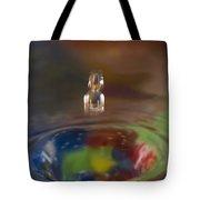 Water Drop Abstract 7 Tote Bag