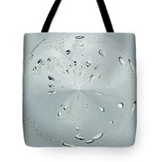Water Drop Splash Tote Bag