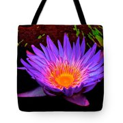 Water Droplets On Lily Tote Bag