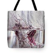 Water Drops Abstract  Tote Bag