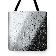 Water Drops On A Window Tote Bag