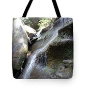 Water Fall In Hocking Hills Tote Bag