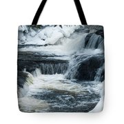 Water Fall On The River Tote Bag