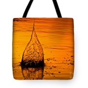 Water Fire Tote Bag