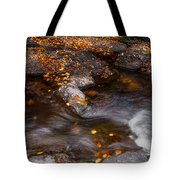 Water Flow Through The Boulders. Eureka. Mauritius Tote Bag
