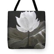 Water Flower Tote Bag