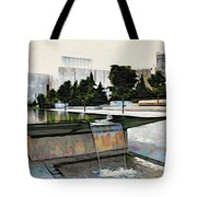Water Flows At The Barnes Tote Bag