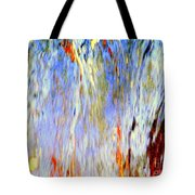 Water Fountain Abstract #30 Tote Bag