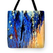 Water Fountain Abstract31 Tote Bag