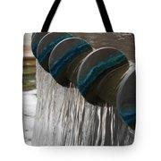 Water Fountain Natural Art In Progress Tote Bag