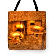 Water Fountains Tote Bag