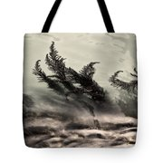 Water Fronds Tote Bag