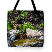 Water Garden Tote Bag