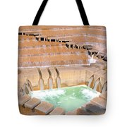 Water Garden Fountain, Fort Worth, Texas Tote Bag