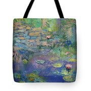 Water Garden Tote Bag by Michael Creese